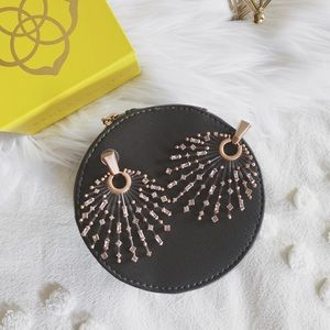 "Kendra Scott ""Fabia"" Earrings - Rose Gold"
